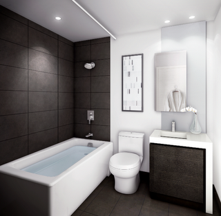 Attractive Bathroom Design Gallery On Dna3 Condos At King West Village